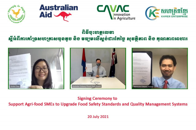 Khmer Enterprise, Australia Launch New Funding to Promote Agri-food Safety and Quality Standards