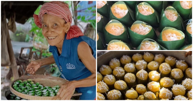 Resilient Grandma Supports Whole Family by Selling Steamed Palm Cakes