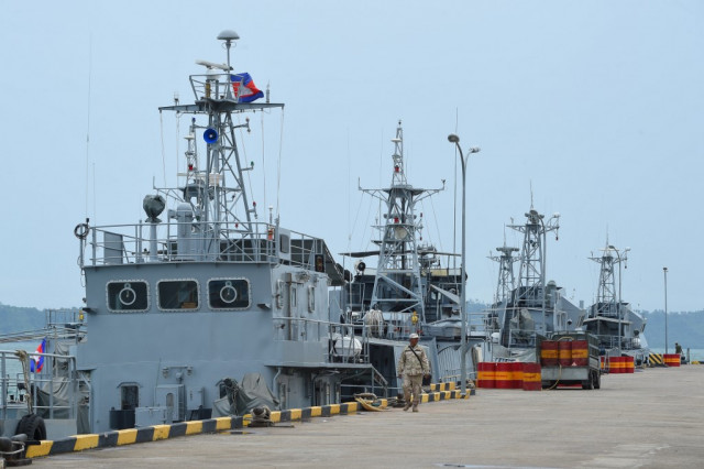 The U.S. Disappointed by Cambodia's Destruction of Naval Facility