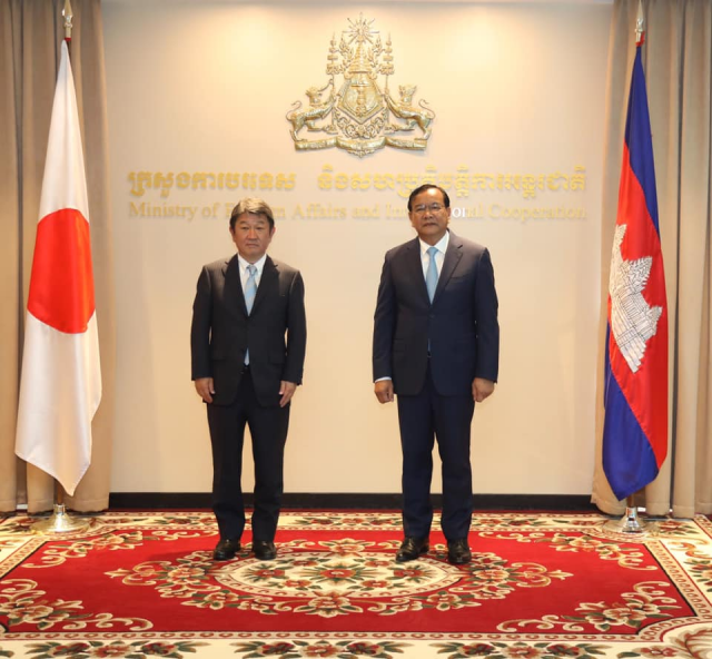 Japan Pledges $240 Million to Support Cambodia's Economic Recovery