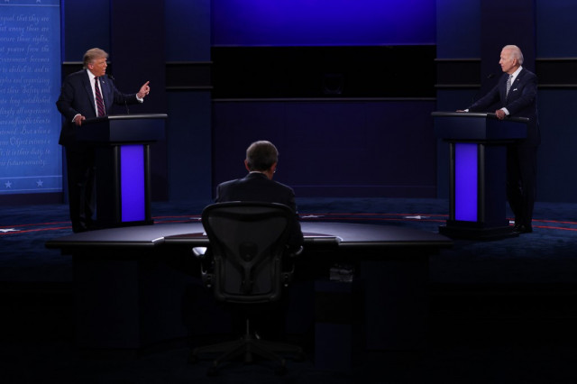 Trump and Biden to do battle in final debate